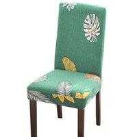 Стиральный стул Cover Anti-Dust Seat Supplecover Моющиеся Съемные стулья Охватывает Столовая Кухня Отель Ресторан Церемония Инструмент EWD8630