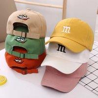 Casquette de baseball enfant pour enfants pour les filles garçon chapeaux bronzé bébé chapeau hip hop hip hop brodé mignon kids casillons 1-6y