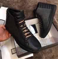 어린이 2021TOP 제품 MARCA 신발 운동화 편안한 봄 패션 통기성 LUSSO 블랙 탑 가죽 로퍼 남자 캐주얼 크기 38-45