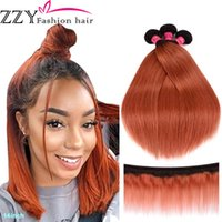 """Human Hair Bulks ZZY Fashion T1B 350 Straight 3 Piece 12""""-26"""" Malaysian Bundles Non-remy Weave Extensions"""