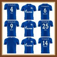 21 22 FC Schalke 04 Soccer Jerseys Casa Away Uth Ozan Harit Football Jersey Raman Serdar Kucucu Matondo Shirt 2021 2022