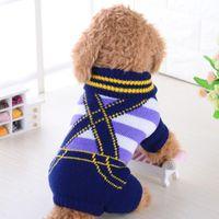 Dog Apparel Small Pet Puppy Cat Warm Sweater Clothes Knit Coat Winter 2XS~L