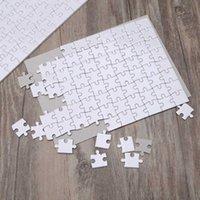 Сублимационные пустые головоломки DIY Craft Products Heat Press Transfer Crafts Jigsaw головоломки белая пустая головоломка DHB8136