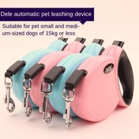 Dog Collars & Leashes Dele Walker Pet Automatic Traction Rope Retractable Belt Trumpet