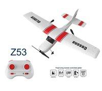 Z53 Control remoto Drone Glider GPS Mini Drones Aviones con protección giroscopio FPV DUAL CAMERAS DULLABLE RC Quadcopter Toy