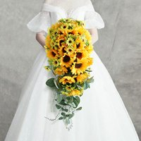 Garden Style Wedding Flowers Bridal Bouquets Sunflowers Bouquet