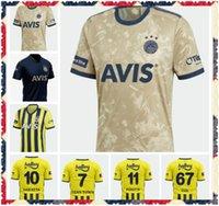 20 21 Fenerbahce Soccer Jerseys 2021 2022 Camisetas de Fútbol Home Mesut Ozan Tufan Perotti Samatta Camiseta كرة القدم قمصان موحدة