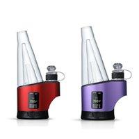 Portatile DAB RIG ELETTONICO Nail Wax Hard Herb E-sigaretta Kit E-sigaretta VAPorizer con luce a LED e display digitale dispositivo vape