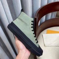 LUXURYS Designer Sneaker Zip Scarpe Casual Casual Scarpe Casual in pelle di vitello Suola in gomma bianca Stivaletto Stellar
