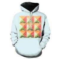 Men's Hoodies & Sweatshirts 3D Printing Hoodie Spring And Autumn Fruit Pattern Series Women's Casual Hooded Pullover