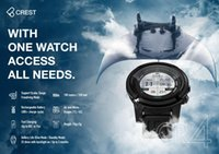 Pool & Accessories Scuba Dive Computer Crest CR-4 CR4 100 Meters   330 Feet Diving Watch Free Rechargeable Battery