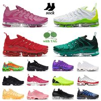TN plus mens running shoes orlando together triple red black white bumblebee bleached coral pure sports trainers USA active fuchsia men women sneakers