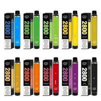 Puff flex dispositivo descartável e-cigarro dispositivo 2800 puffs 1500mAh bateria 10ml Cartucho de 10ml Vape de Cartucho Vape vs Bar Plus Bang XXL