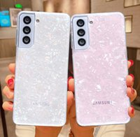 Glitter Dream Shell Phone Cases For Samsung A72 A52 A51 A71 A12 S21 S20 S10 Plus Note 20 10 S21 S20 Ultra Soft Clear Back Cover