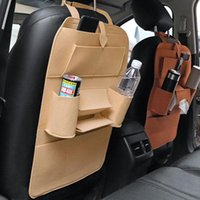 Storage Bags Car Rear Seat Back Bag Multi Hanging Nets Pocket Trunk Organizer Auto Stowing Tidying Interior Accessories Supplies