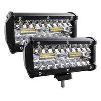 7 Zoll 120W Combo LED Lichtstangen Spot Flood Beam 4x4 12V 24V für Auto Boote suv atv ilight.