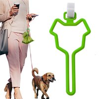 Dog Poop Bag Holder Waste Bag Carrier Pet Leash Dispenser Hands-Free Holder for Dog Poop Bags 7 Colors T500729