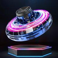 Flynova fidget spinner spielzeug 2020 neue ufo fliegende spinner kinder led rotieren fliegende spielzeug dekompression flug gyro dhl