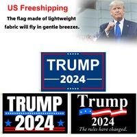 Neue Stile America Flaggen Änderungsantrag 90 * 150cm Polizei 2nd RRA3634 Trumpf Flagge Versand Banner USA Gadsden Flagge Wahl DHL Präsidenten USA