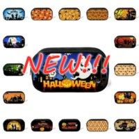Halloween Calabaza Caja de lápiz Hallowma Ghost Hat Diseño Estudiantes Bolsa de pluma Bolsas de almacenamiento Maquillaje Cambio de bolsillo Regalos de vacaciones al por mayor