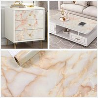 Pvc Self Adhesive Marble Wall Papers Removable Sticker Film Kitchen Backsplash Tile Countertop Home Decor Contact Wallpapers