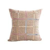 Подушка / декоративная подушка креативная линия шаблон плещемой домашнее сиденье подушки подушки 45 * 45см без сердечника CHENILLE DEC SOFT X81