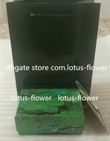 Factory Supplier Luxury Green With Watch Boxes & CasesOriginal Box Wooden Papers Card Wallet Boxes&Cases Wristwatch