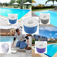 20pcs / lot Pool Skimmer Socks Calks Filtri cesti, skimmers pulisce detriti e foglie per piscine a terra in terra RRD7284