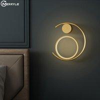 Wandleuchte Schlafzimmer Nachttischlicht Einfach nach moderner Hintergrundbeleuchtung für Wohnzimmerdekor LED-Halterung