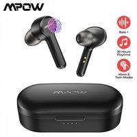 MPOW M9 In-Ear Wireless Earputs Bluetooth 5.0 Stereo IPX7 Vattentät hörlurar med 30h speltid för iOS Android Smartphone