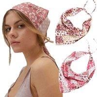 Print Turban Headband Bandana Hair Band Fashion For Women 2021 Hair Accessories Girls Head Wrap Scarf