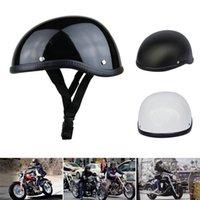 Half Face Retro Motorcycle Helmet All Season Safety Waterproof Accessories Helmets