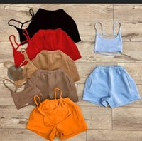 Women's Tracksuits Pyjamas Women Fashion Womens Button Tank Top Pajama Set Lounge Short Sleepwear