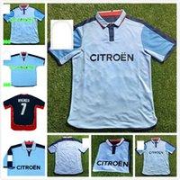 الرجعية Real Club 2002 2004 Celta دي فيجو لكرة القدم جيرسي 02 04 كرة القدم قميص خمر منزل أزرق كلاسيكي camiseta ميلوسيفيك mostovoy jesuli