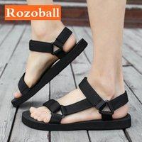 Frauen sommer sandalen licht casual damen plus größe strand flache schuhe comfort weibliche gleiten schuhe fall rozoball