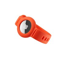 AirTag Bracelet Strap Band Liquid Silicone Case Protective Cover Shell for Apple Airtags