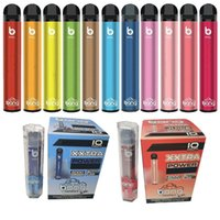Vape Kalem Kiti 800mAh Düğmeli Autoları Elektronik Sigaralar Shenzhen Çin Tek Kullanımlık 2000 Puffs 800 MAH 50 Bang XXL