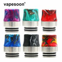 VapeSoon001 810 Stainless Steel Resin Drip Tip Anti-fried oil Drip Tip For IJUST 3 TFV12 Prince etc DHL Free