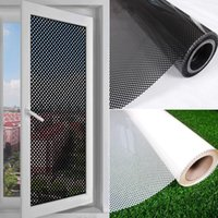 Wall Stickers 1PC Translucent Mesh Shading Glass Decals Film Window Adhesive PVC Sticker DIY Home Decoration