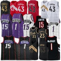 Vince 15 Carter Pascal 43 Siakam College Basketball Jersey Mens Tracy 1 McGrady Steinsted Jerseys