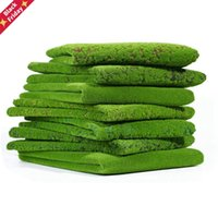 Artificial Lawn Moss Mat Simulation Plant Background Indoor Wall Bryophyte Green Decorative Flowers & Wreaths