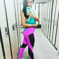 Women's Leggings Wholesale Push Up Women Fitness Sexy Mesh Leggins Workout Jeggings High Waist Polyester Ankle-Length Pants Muje