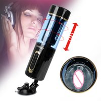 Sex Toys For Men Adult Products Sex Machine Artificial Vaginal With Strong Suction Cup Masturbation Cup Automatic Telescopic