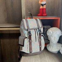 Italia marca pato pato pequeño mochila beige lienzo tela de dibujos animados mochilas viajes unisex para mujer para hombre diseño de lujo bolsos de diseño de totajes bolsas de lona de equipaje 645051