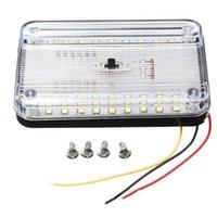 Araba Farları 12 V 36 LED'ler Araç İç Işık Dome Çatı Tavan Okuma Gövde Lambası Yüksek Kaliteli Ampul Styling Gece