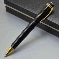 أحمر طبعة محدودة 1912 أقلام سوداء جودة عالية الفضة المعادن حبر جافت القلم القرطاسية مكتب المدرسة