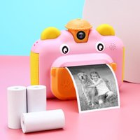 Caméscopes enfants caméra imprimée instantanée pour enfants 1080p HD Video Jouets avec carte 32 Go