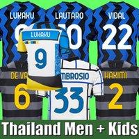 2019 2020 2021 Lukaku Alexis Lautaro Eriksen Milan Hakimi Futbol Formaları 19 20 21 Godin Sensi Vidal Barella Inter Erkekler Çocuklar Kadın Futbol Gömlek