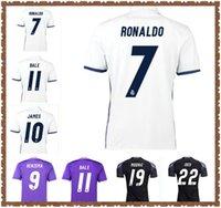 2016 2017 2018 2019 레알 마드리드 축구 유니폼 레트로 벤제마 호나우두 베일 Marcelo Modric Kross Football Shirt 16 18 Sergio Ramos