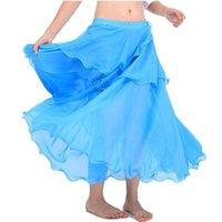 Egypte Bollywood 9 Kleuren Cake Belly Dansen Rokken Rok Dans Kostuums Professionele Kostuum India BellyDance Tribal Pant Stage Wear